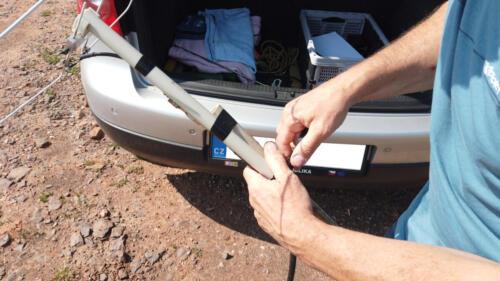 Příprava antény
